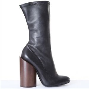 Givenchy wooden heel boots